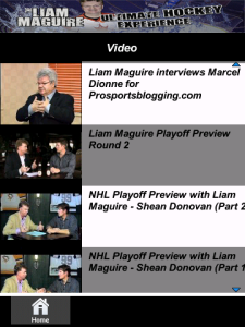 The Liam Maguire Ultimate Hockey Experience