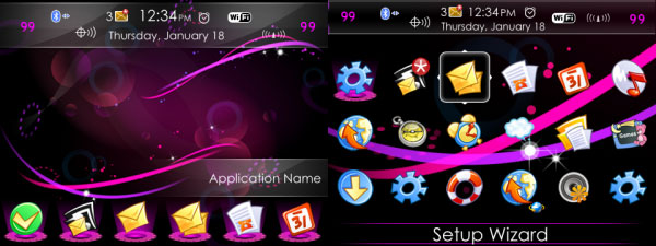 Mixed Colors Theme