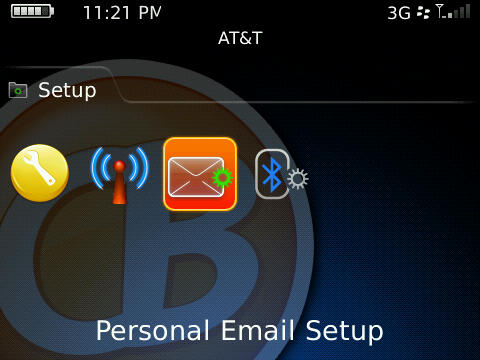 OS5 Personal Email Setup