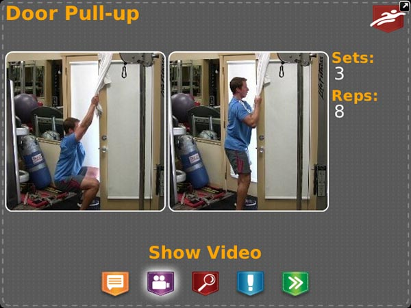 Pocket Trainer Door Pull-up