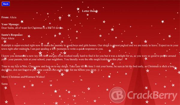 Santa Tracker - Mailbag