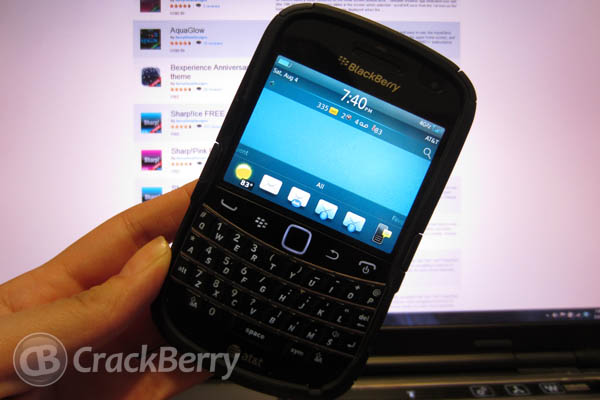 Sharp!Ice for the BlackBerry Bold 9900