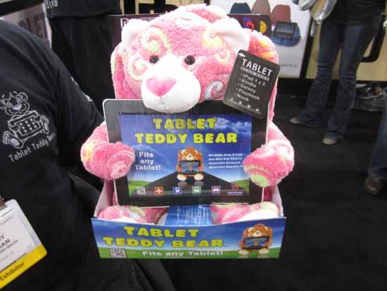 Tablet Teddy Bears