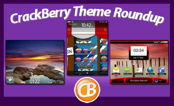 BlackBerry theme roundup 04-10-12