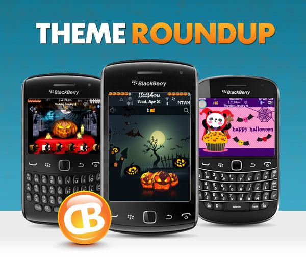 BlackBerry theme roundup 10-16-12