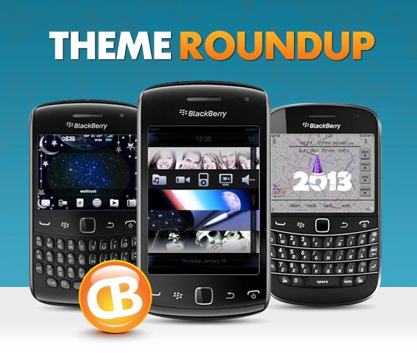 BlackBerry theme roundup 01-01-13