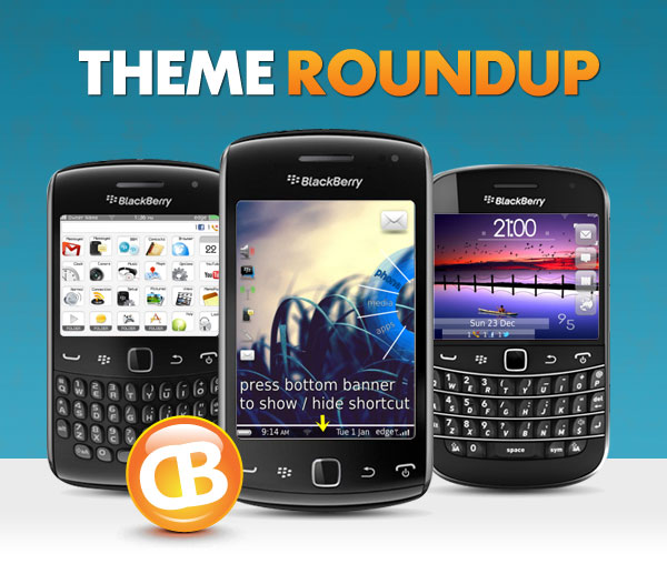 BlackBerry theme roundup header 1-8-13