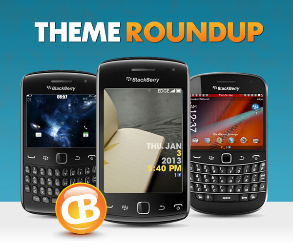 BlackBerry Theme Roundup Header 01-22-13
