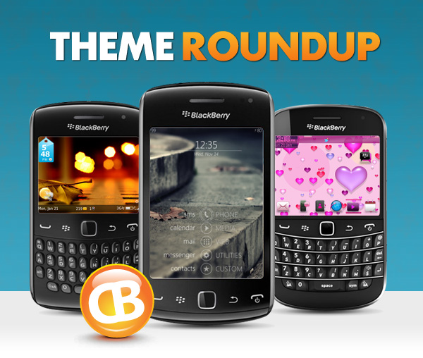 BlackBerry theme roundup header 01-29-13