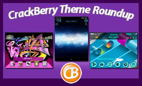 BlackBerry theme roundup 03-13-12
