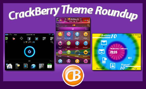BlackBerry theme roundup 4-17-12