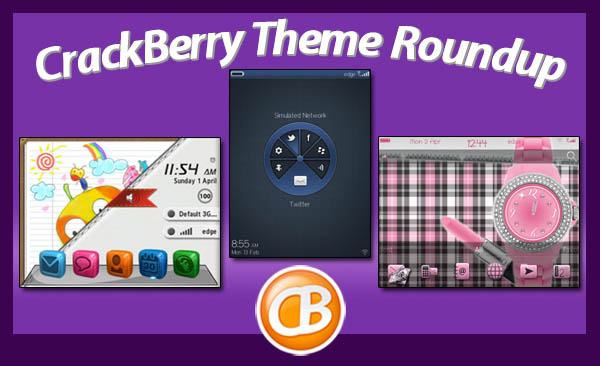 CrackBerry theme roundup 4-24-12