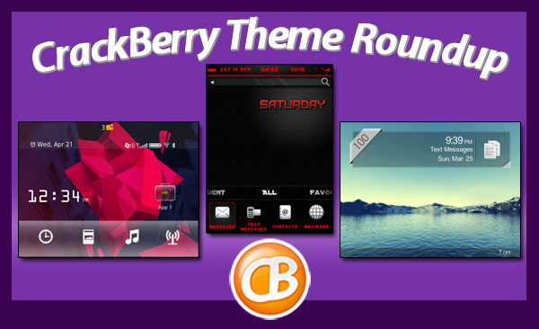 BlackBerry theme roundup 05-08-12