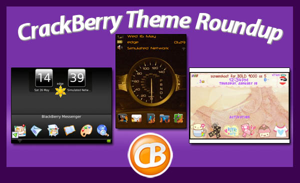 BlackBerry theme roundup 06-05-12