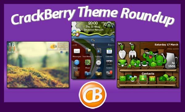 BlackBerry theme roundup 06-12-12