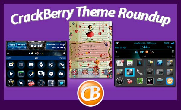 BlackBerry theme roundup 6-19-12