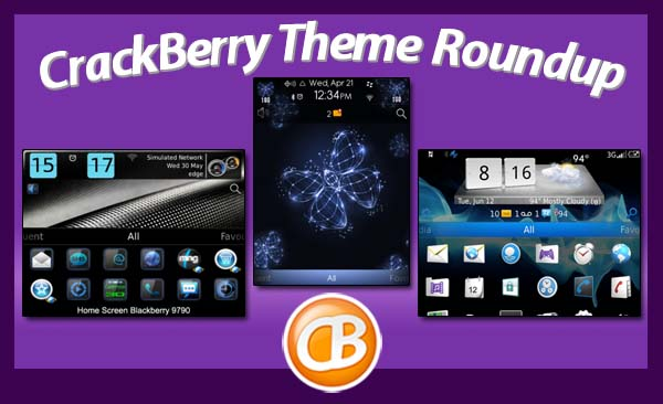 BlackBerry theme roundup 6-26-12