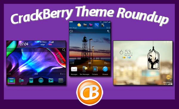 BlackBerry theme roundup - 07-03-12