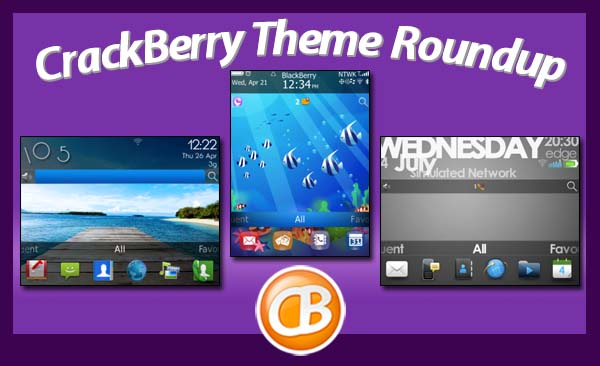 BlackBerry theme roundup 07-10-12