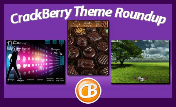 BlackBerry theme roundup 7-17-12
