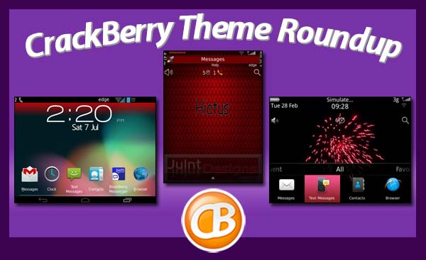 BlackBerry theme roundup 072412