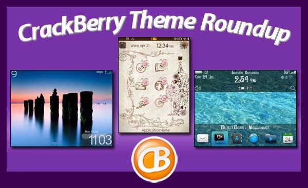 BlackBerry theme roundup 07-31-12