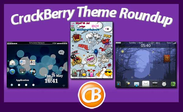 BlackBerry theme roundup 080612