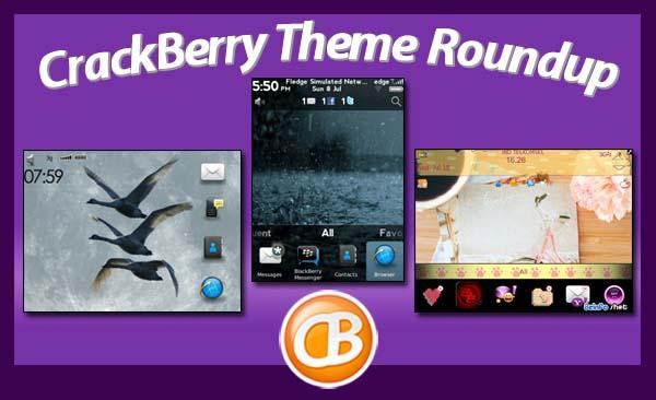BlackBerry theme roundup 081412