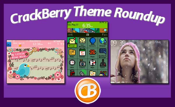 BlackBerry theme roundup 082112