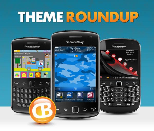 BlackBerry theme roundup header