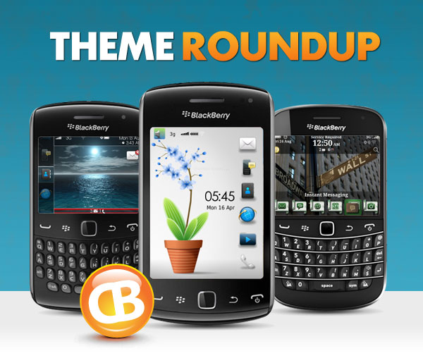 BlackBerry theme roundup header