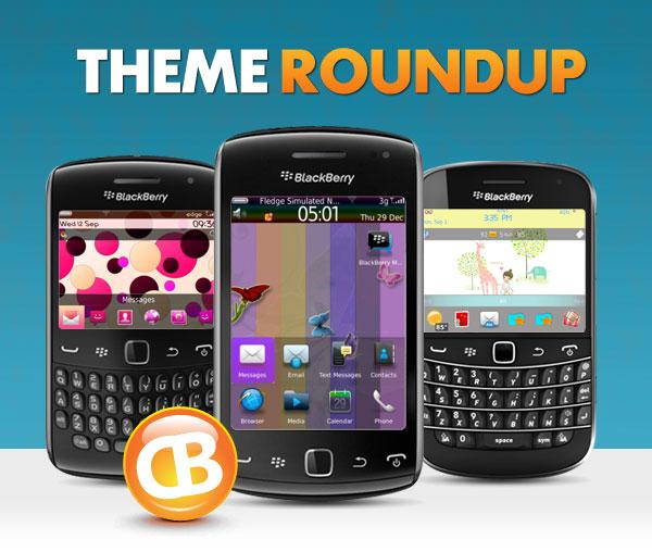 BlackBerry theme roundup header 09-18-12