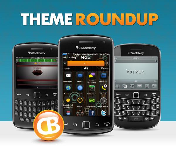 BlackBerry theme roundup header 10-2-12