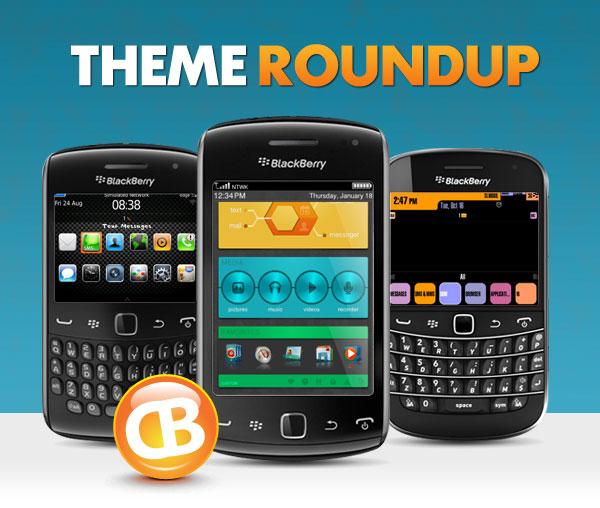 BlackBerry theme roundup header 10-23-12