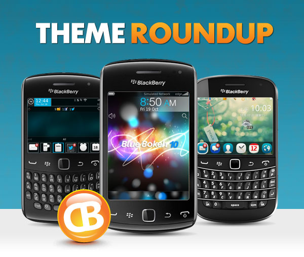 BlackBerry theme roundup header 10-30-12
