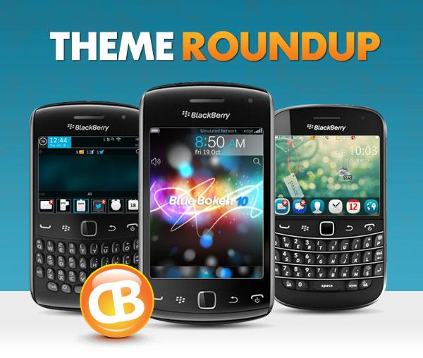 BlackBerry theme roundup header 10-30-12