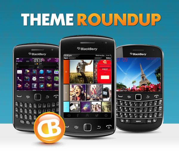 BlackBerry theme roundup header 11-13-12