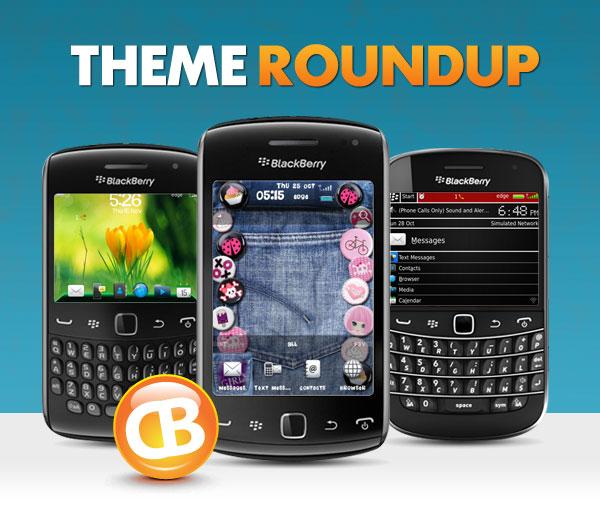 BlackBerry theme roundup header 112712