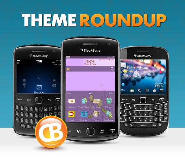 BlackBerry theme roundup header 121112