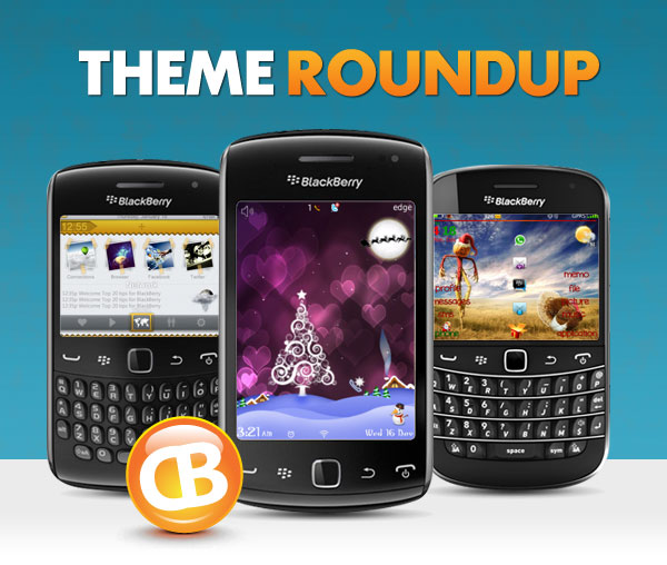BlackBerry theme roundup header 12-18-12
