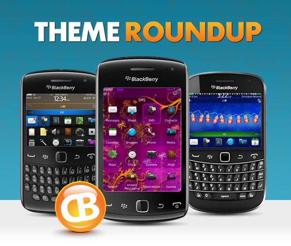 BlackBerry theme roundup 12-25-12