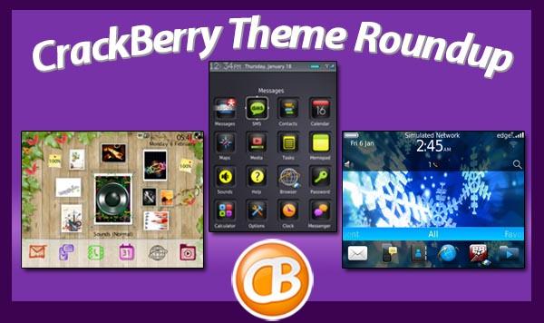 BlackBerry theme roundup 2-21-12