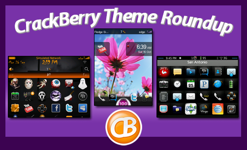 CrackBerry theme roundup