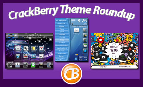 CrackBerry Theme Roundup 11-22-11