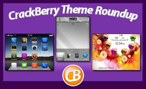 CrackBerry Theme Roundup 011712