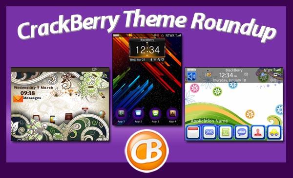 BlackBerry Theme Roundup 3-27-12
