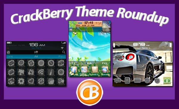 BlackBerry theme roundup 04-3-12