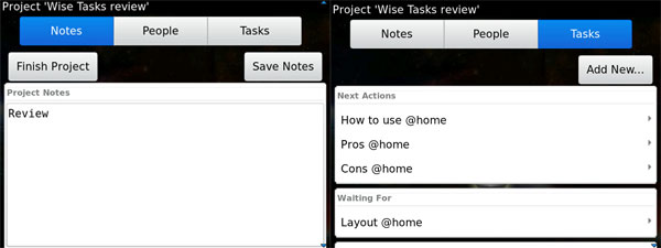 Wise Tasks Projects