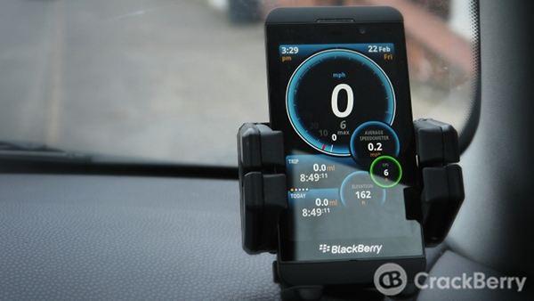 Ulysse Speedometer for BlackBerry 10
