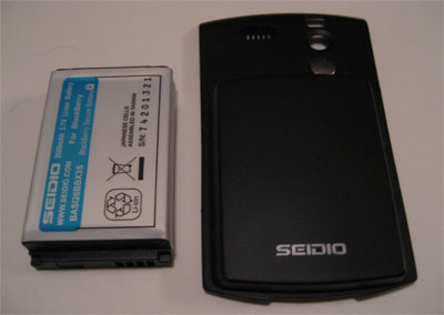 Seidio's 2600 Extended Battery for the Curve
